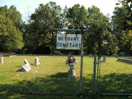 *BETHANY CEMETERY ENTRANCE,  - Boone County, Arkansas |  *BETHANY CEMETERY ENTRANCE - Arkansas Gravestone Photos
