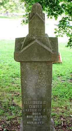 CENTER, ELIZABETH G. - Boone County, Arkansas | ELIZABETH G. CENTER - Arkansas Gravestone Photos