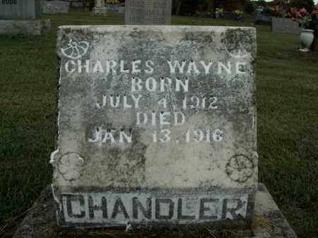 CHANDLER, CHARLES WAYNE - Boone County, Arkansas | CHARLES WAYNE CHANDLER - Arkansas Gravestone Photos