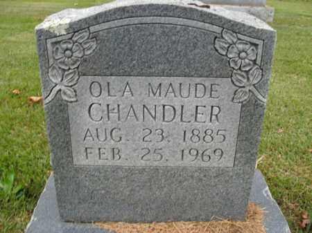 CHANDLER, OLA MAUDE - Boone County, Arkansas | OLA MAUDE CHANDLER - Arkansas Gravestone Photos