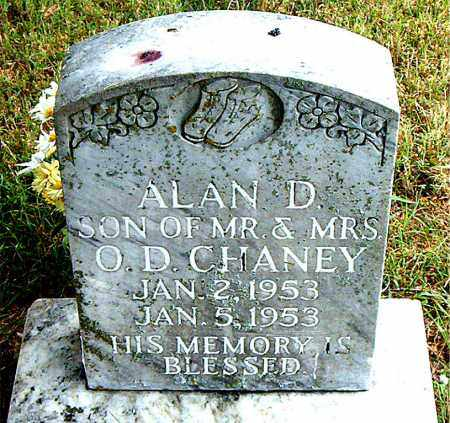 CHANEY, ALAN D. - Boone County, Arkansas | ALAN D. CHANEY - Arkansas Gravestone Photos