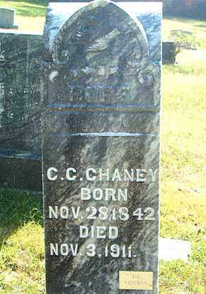 CHANEY, CHRISTOPHER COLUMBUS - Boone County, Arkansas | CHRISTOPHER COLUMBUS CHANEY - Arkansas Gravestone Photos