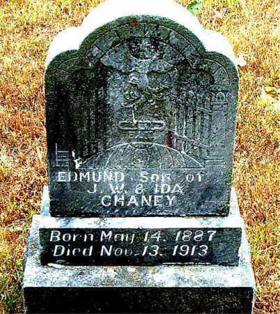 CHANEY, EDMUND - Boone County, Arkansas | EDMUND CHANEY - Arkansas Gravestone Photos
