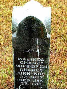 CHANEY, MALINDA - Boone County, Arkansas | MALINDA CHANEY - Arkansas Gravestone Photos
