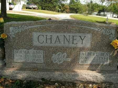 CHANEY, ALBERT BEN - Boone County, Arkansas | ALBERT BEN CHANEY - Arkansas Gravestone Photos