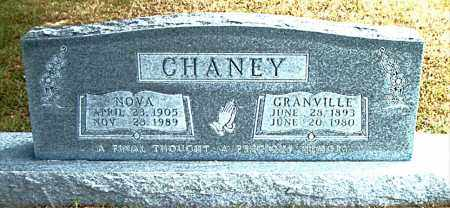 CHANEY, NOVA CECIL - Boone County, Arkansas | NOVA CECIL CHANEY - Arkansas Gravestone Photos