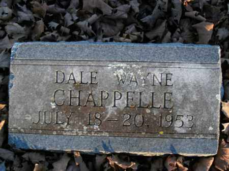 CHAPPELLE, DALE WAYNE - Boone County, Arkansas | DALE WAYNE CHAPPELLE - Arkansas Gravestone Photos