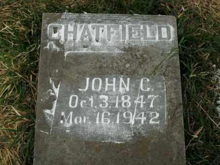 CHATFIELD, JOHN C. - Boone County, Arkansas | JOHN C. CHATFIELD - Arkansas Gravestone Photos