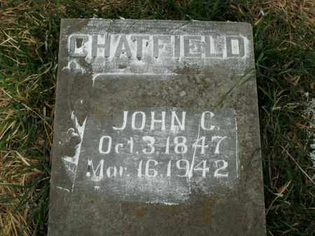 CHATFIELD, JOHN C. - Boone County, Arkansas | JOHN C. CHATFIELD - Arkansas Gravestone Photos