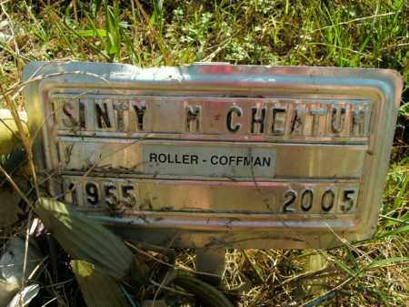 CHEATUM, SINTY M. - Boone County, Arkansas | SINTY M. CHEATUM - Arkansas Gravestone Photos