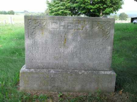 CHEEK, W.C. - Boone County, Arkansas | W.C. CHEEK - Arkansas Gravestone Photos