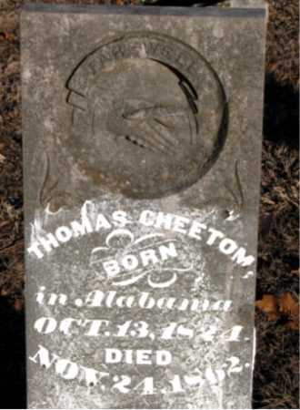 CHEETOM, THOMAS - Boone County, Arkansas | THOMAS CHEETOM - Arkansas Gravestone Photos