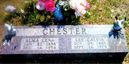 CHESTER, ALMA LENA - Boone County, Arkansas | ALMA LENA CHESTER - Arkansas Gravestone Photos