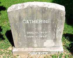 CLARK, CATHERINE - Boone County, Arkansas | CATHERINE CLARK - Arkansas Gravestone Photos