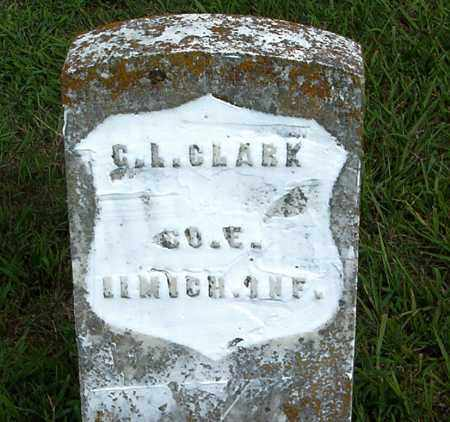 CLARK  (VETERAN UNION), GEORGE  L. - Boone County, Arkansas | GEORGE  L. CLARK  (VETERAN UNION) - Arkansas Gravestone Photos