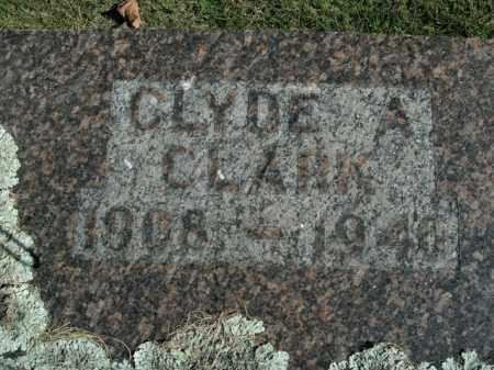 CLARK, CLYDE A. - Boone County, Arkansas | CLYDE A. CLARK - Arkansas Gravestone Photos