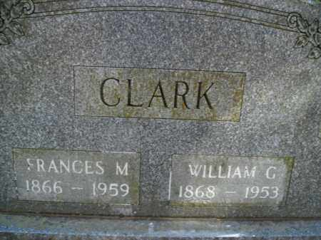 CLARK, FRANCES ORLENA - Boone County, Arkansas | FRANCES ORLENA CLARK - Arkansas Gravestone Photos