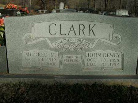 CLARK, JOHN DEWEY - Boone County, Arkansas | JOHN DEWEY CLARK - Arkansas Gravestone Photos