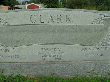 CLARK  (VETERAN WWI), EDWARD V. - Boone County, Arkansas | EDWARD V. CLARK  (VETERAN WWI) - Arkansas Gravestone Photos