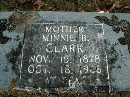 CLARK, MINNIE B. - Boone County, Arkansas | MINNIE B. CLARK - Arkansas Gravestone Photos