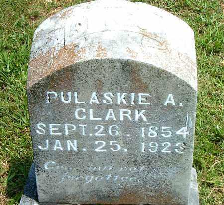 CLARK, PULASKIE  A. - Boone County, Arkansas | PULASKIE  A. CLARK - Arkansas Gravestone Photos