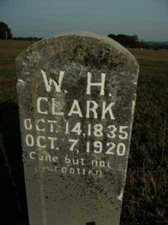 CLARK, W.H. - Boone County, Arkansas | W.H. CLARK - Arkansas Gravestone Photos
