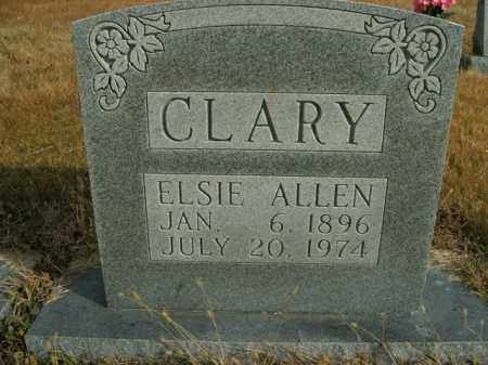 CLARY, ELSIE ALLEN - Boone County, Arkansas | ELSIE ALLEN CLARY - Arkansas Gravestone Photos