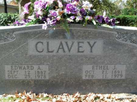 CLAVEY, ETHEL J. - Boone County, Arkansas | ETHEL J. CLAVEY - Arkansas Gravestone Photos
