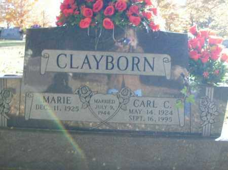 CLAYBORN, CARL C. - Boone County, Arkansas | CARL C. CLAYBORN - Arkansas Gravestone Photos