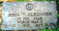 CLEGHORN  (VETERAN WWII), JOHN THOMAS - Boone County, Arkansas   JOHN THOMAS CLEGHORN  (VETERAN WWII) - Arkansas Gravestone Photos