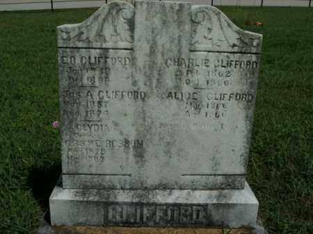 CLIFFORD, JAMES A. - Boone County, Arkansas | JAMES A. CLIFFORD - Arkansas Gravestone Photos
