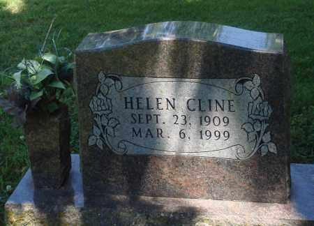 CLINE, HELEN - Boone County, Arkansas | HELEN CLINE - Arkansas Gravestone Photos