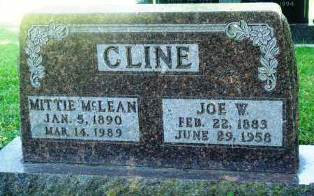 MCLEAN CLINE, MITTIE - Boone County, Arkansas | MITTIE MCLEAN CLINE - Arkansas Gravestone Photos
