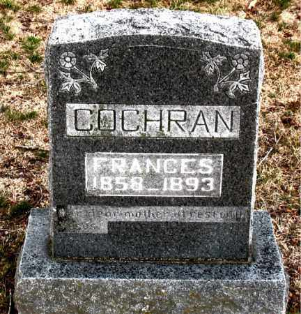 COCHRAN, FRANCES - Boone County, Arkansas | FRANCES COCHRAN - Arkansas Gravestone Photos