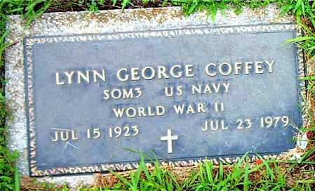 COFFEY  (VETERAN WWII), LYNN GEORGE - Boone County, Arkansas | LYNN GEORGE COFFEY  (VETERAN WWII) - Arkansas Gravestone Photos