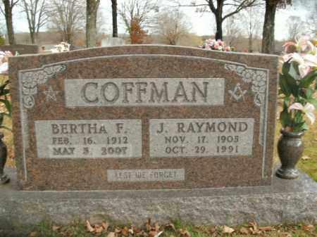 COFFMAN, J. RAYMOND - Boone County, Arkansas | J. RAYMOND COFFMAN - Arkansas Gravestone Photos