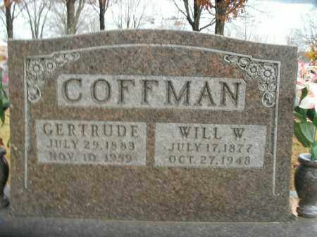 COFFMAN, GERTRUDE - Boone County, Arkansas | GERTRUDE COFFMAN - Arkansas Gravestone Photos