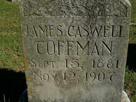COFFMAN, JAMES CASWELL - Boone County, Arkansas | JAMES CASWELL COFFMAN - Arkansas Gravestone Photos
