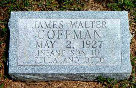 COFFMAN, JAMES WALTER - Boone County, Arkansas | JAMES WALTER COFFMAN - Arkansas Gravestone Photos