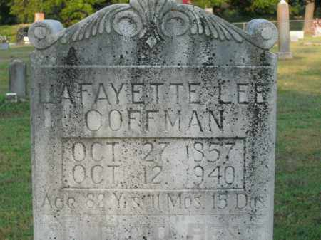 COFFMAN, LAFAYETTE LEE - Boone County, Arkansas | LAFAYETTE LEE COFFMAN - Arkansas Gravestone Photos