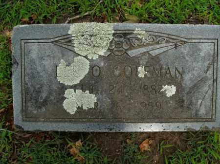 COFFMAN, LEE O. - Boone County, Arkansas | LEE O. COFFMAN - Arkansas Gravestone Photos
