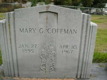 COFFMAN, MARY G. - Boone County, Arkansas | MARY G. COFFMAN - Arkansas Gravestone Photos
