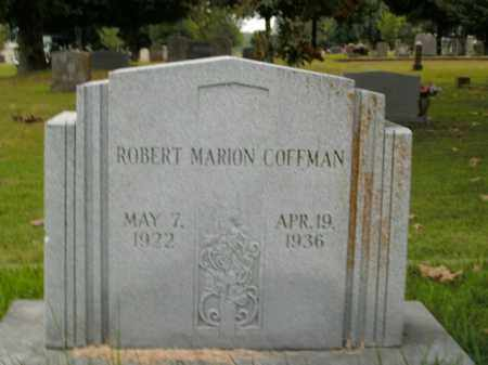COFFMAN, ROBERT MARION - Boone County, Arkansas | ROBERT MARION COFFMAN - Arkansas Gravestone Photos