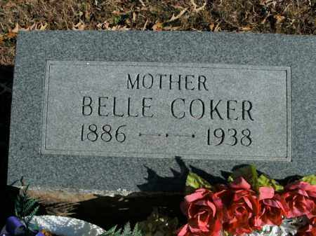 COKER, BELLE - Boone County, Arkansas | BELLE COKER - Arkansas Gravestone Photos