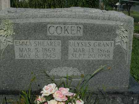 SHEARER COKER, EMMA C. - Boone County, Arkansas | EMMA C. SHEARER COKER - Arkansas Gravestone Photos