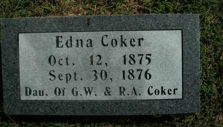 COKER, EDNA - Boone County, Arkansas | EDNA COKER - Arkansas Gravestone Photos