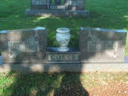 COKER, LEANORD L. - Boone County, Arkansas | LEANORD L. COKER - Arkansas Gravestone Photos