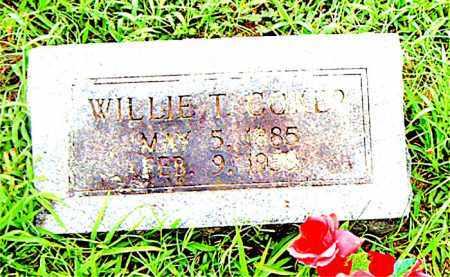 COKER, WILLIE T. - Boone County, Arkansas | WILLIE T. COKER - Arkansas Gravestone Photos