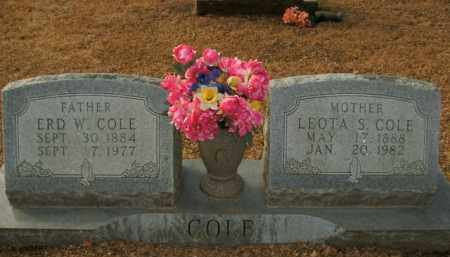 COLE, LEOTA S. - Boone County, Arkansas | LEOTA S. COLE - Arkansas Gravestone Photos