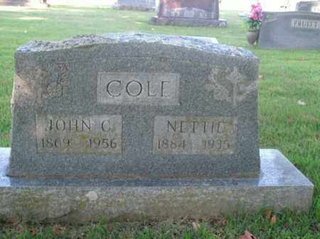 COLE, JOHN CALVIN - Boone County, Arkansas | JOHN CALVIN COLE - Arkansas Gravestone Photos